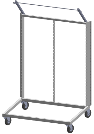 Construction of drying racks - Metal frame